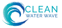 Clean Water Wave Sticky Logo